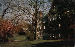 Clinton Hall with Head Masters House in Background