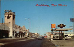 US Highway 70-80-180 through Lordsburg