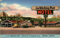The Hitching Post Postcard