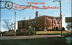 Otoe County Courthouse Postcard
