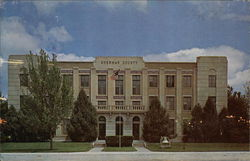Sherman County Courthouse Postcard