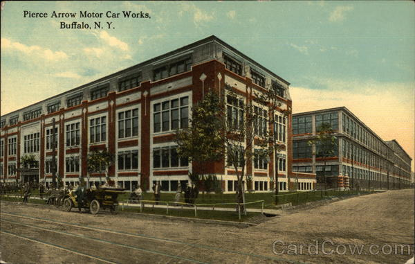 Pierce Arrow Motor Car Works Buffalo New York