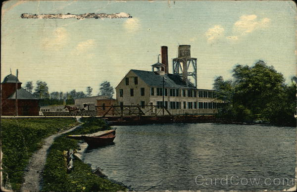 Mill on River Kingston Massachusetts
