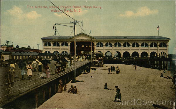 The Arcade, where Pryors Band Plays Daily Asbury Park New Jersey