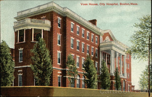 Vose House, City Hospital Boston Massachusetts