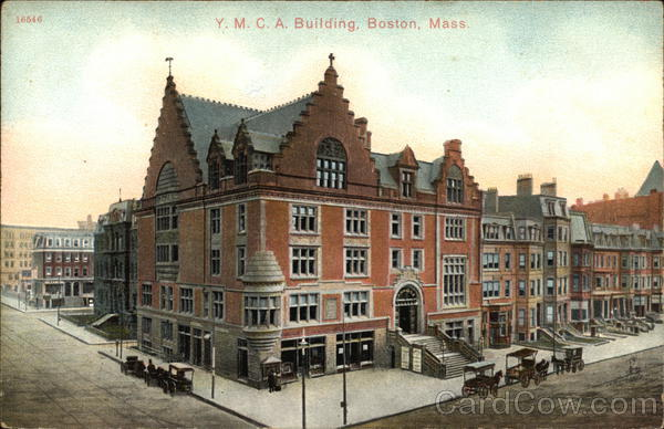 Y.M.C.A. Building Boston Massachusetts