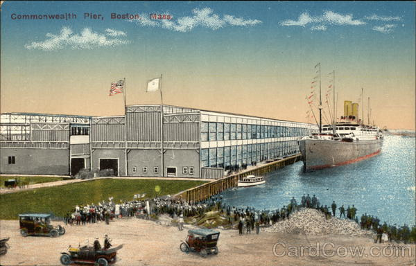 Commonwealth Pier Boston Massachusetts