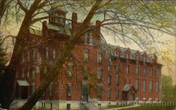 Allegheny College - Hullings Hall Meadville Pennsylvania