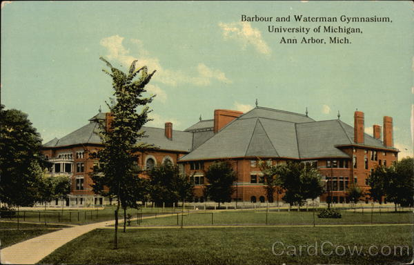 Barbour and Waterman Gymnasium at University of Michigan Ann Arbor
