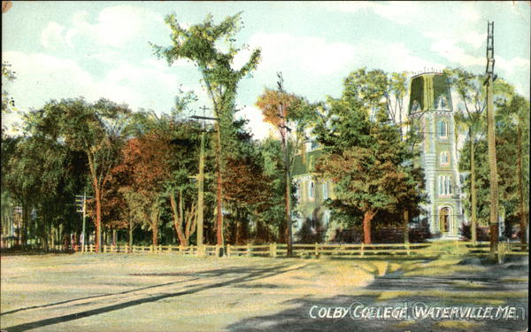 Colby College Waterville Maine