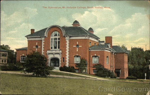 The Gymnasium at Holyoke College South Hadley Massachusetts