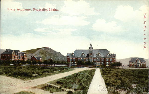 State Academy and Grounds Pocatello Idaho