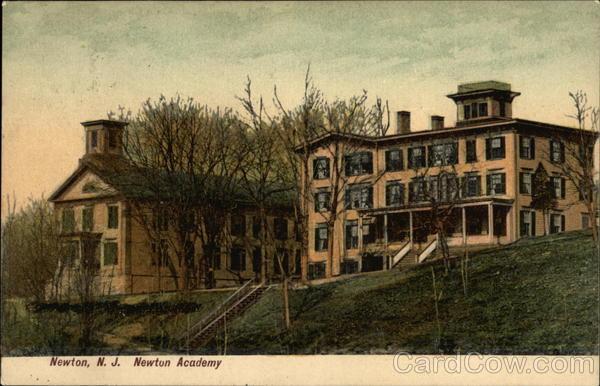 Newton Academy New Jersey W. A. Storey
