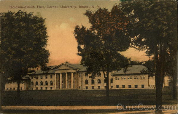 Goldwin-Smith Hall at Cornell University Ithaca New York