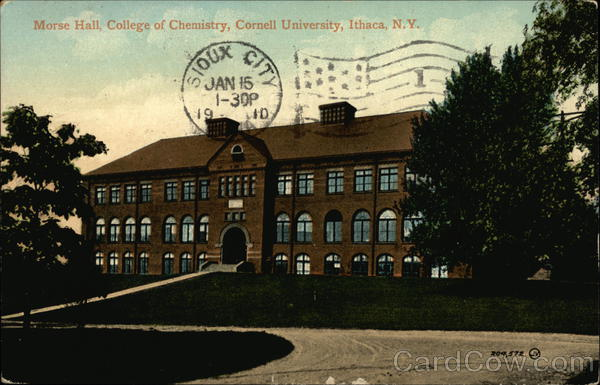 Morse Hall, College of Chemistry, Cornell University Ithaca New York