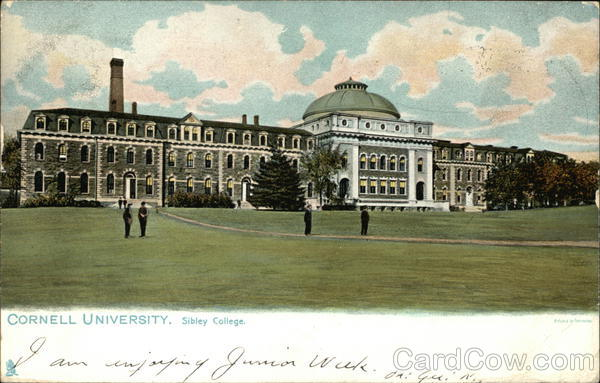 Sibley College at Cornell University Ithaca New York