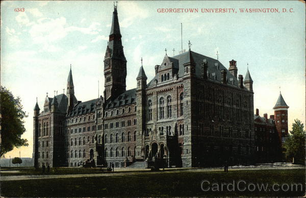 Georgetown University Washington District of Columbia