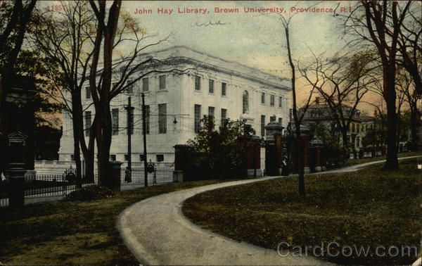 John Hay Library, Brown University Providence Rhode Island
