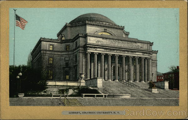 Columbia University - The Library New York