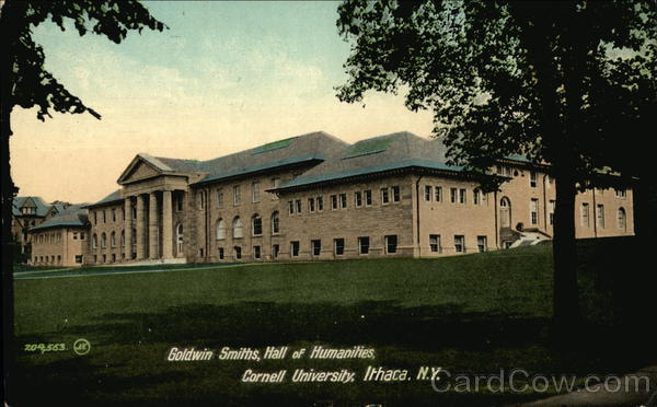 Goldwin Smiths, Hall of Humanities at Cornell University Ithaca New York