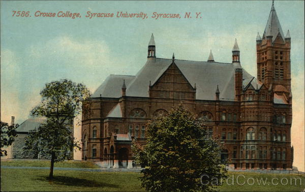 Crouse College at Syracuse University New York
