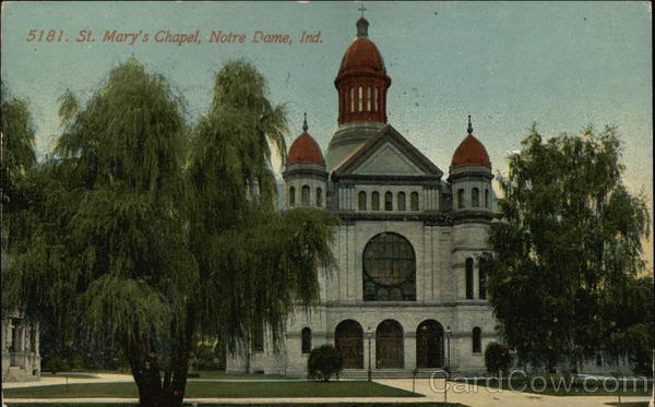 5181. St. Mary's Chapel Notre Dame Indiana