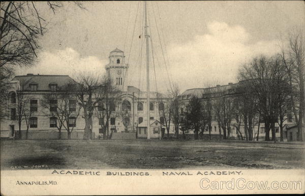Academic Building at Naval Academy Annapolis Maryland