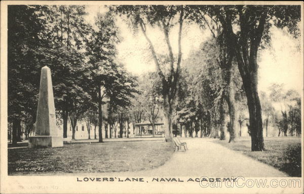 Lover's Lane, Naval Academy Annapolis Maryland