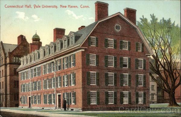 Connecticut Hall at Yale University New Haven