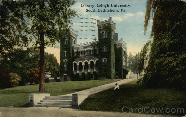 Library, Lehigh University Bethlehem Pennsylvania