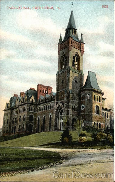 Packer Hall and Grounds Bethlehem Pennsylvania