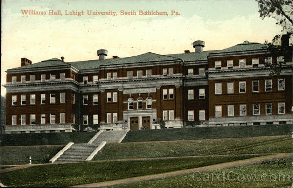 Williams Hall, Lehigh University Bethlehem Pennsylvania