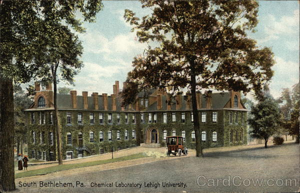Chemical Laboratory at Lehigh University Bethlehem Pennsylvania