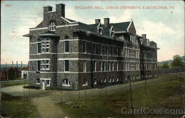 William's Hall at Lehigh University Bethlehem Pennsylvania