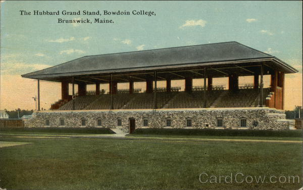 The Hubbard Grand Stand, Bowdoin College Brunswick Maine