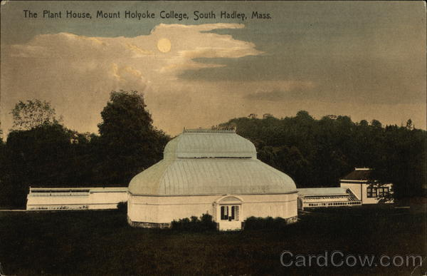 Mount Holyoke College - The Plant House South Hadley Massachusetts