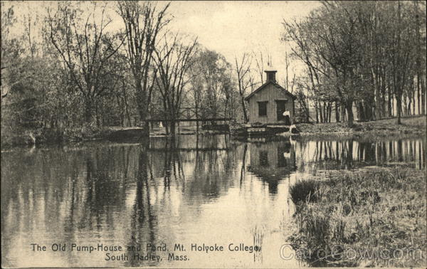 The Old Pump House and Pond at Mt Holyoke College South Hadley Massachusetts
