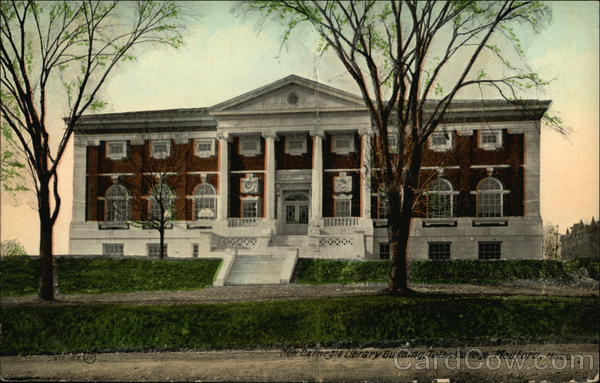 New Carnegie Library Building, Tufts College Medford Massachusetts
