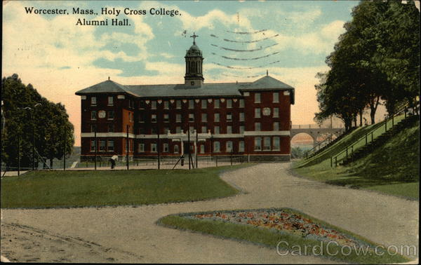 Alumni Hall at Holy Cross College Worcester Massachusetts