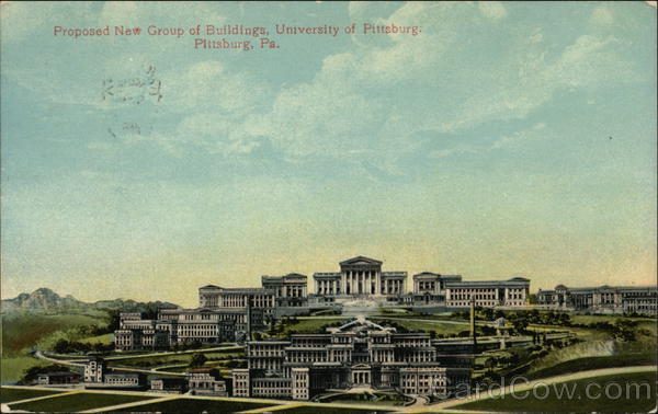 Proposed Buildings for University of Pittsburgh Pennsylvania