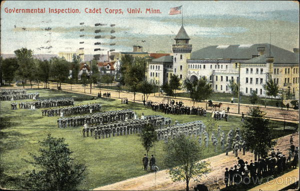 Governmental Inspection, Cadet Corps, University of Minnesota St. Paul