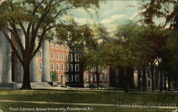 Front Campus of Brown University Providence Rhode Island
