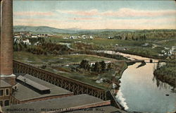 Millinocket Stream from Mill Postcard
