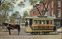Rapid Transit in 1877 - First Horse Car