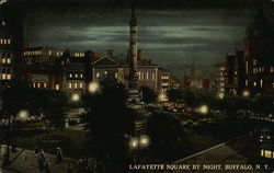 LaFayette Square by Night