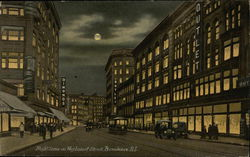 Night Scene on Weybosset Street