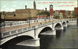 New Cement Bridge & Grand Trunk Depot