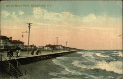 On The Boardwalk Postcard