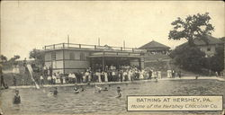 Bathing at Hershey, PA. Home of the Hershey Chocolate Co