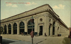 Street View of Back Bay Station